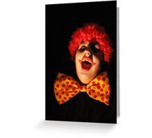 Clown #2 Greeting Card