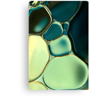 Bubble Blue Canvas Print