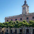 City Hall, Cervantes Plaza, Alcala de Henares, Madrid, Spain by MONIGABI