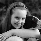 I love my hound and the camera by Garry Copeland