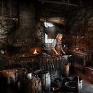 Blacksmith - This is my trade  by Mike  Savad