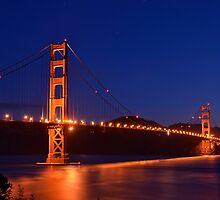 Golden Gate Bridge by Nic Horton