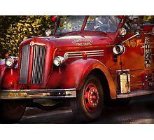 Fireman - The Garwood fire dept Photographic Print