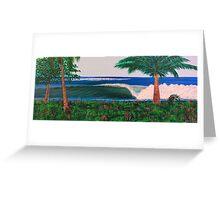 Costa Dreamin Greeting Card