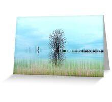 The Marsh ! Greeting Card