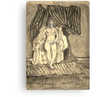 A Lonely Wait Canvas Print