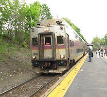 1715 MBTA Commuter Rail Inbound to Boston  by Eric Sanford