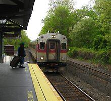 1523 MBTA Commuter Rail inbound  by Eric Sanford