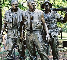 Three Soldiers Memorial by Jamie  Armbruster