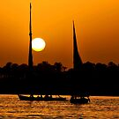 Sunset on the Nile by neil harrison