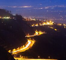 Quito nightview by ammit