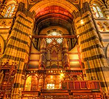 St Pauls Cathedral - Organ by Richard  Cubitt