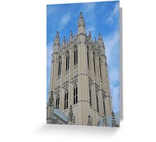 The National Cathedral, Washington, D.C. Greeting Card