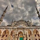 Sultanahmet Mosque - Istanbul by Ben Prewett