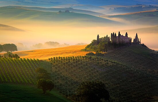 Val d'Orcia by Inge Johnsson