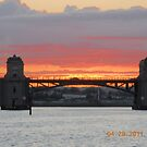 Hanover Street Bridge Sunset #115 by steeltrap