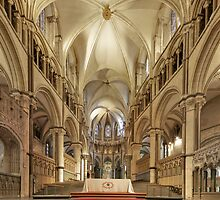 Altar, Canterbury Cathedral, Kent, England by Bob Culshaw