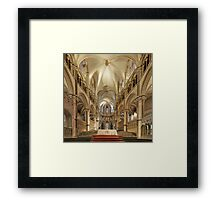 Altar, Canterbury Cathedral, Kent, England Framed Print