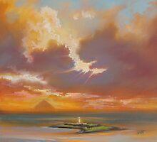 Pladda Lighthouse, Arran by scottnaismith