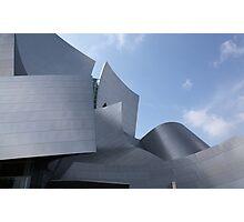 walt disney building in los angeles Photographic Print