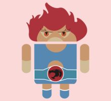 Droidarmy: Thunderdroid Lion-o no text Kids Clothes