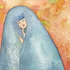 Lighea - Girl with blue veil by vimasi