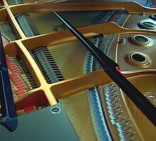 Church Piano by SPPhotography