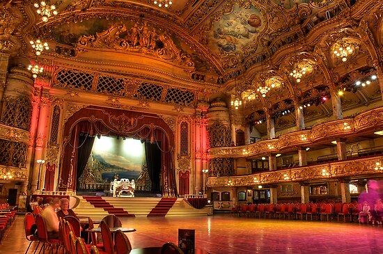 Blackpool Tower Ballroom Ceiling Blackpool-tower-ballroom