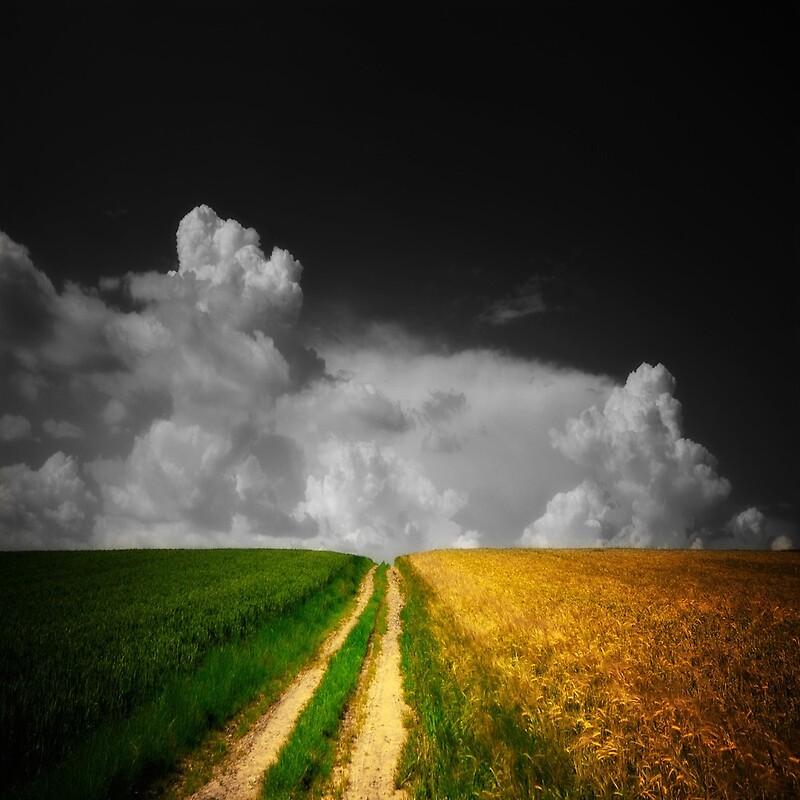 Espacio de nubes por Philippe Sainte-Laudy
