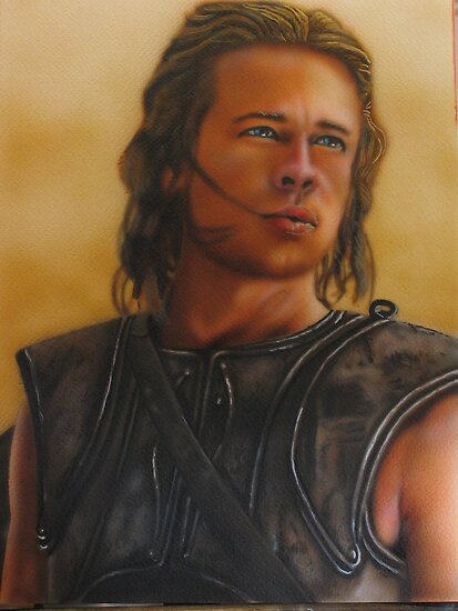brad pitt troy images. rad pitt(troy) by carss66