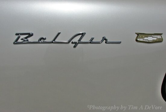 1956 Chevy Bel-Air Logo by Tim