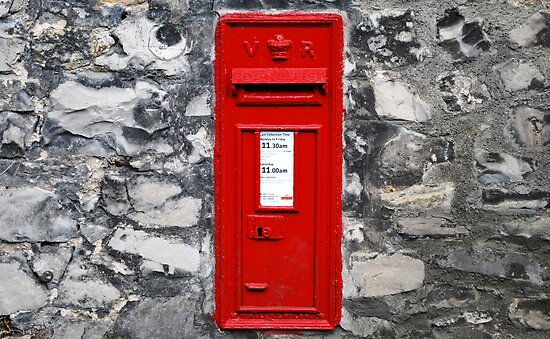 letter boxes for walls. V.R. Post Box by PICMART