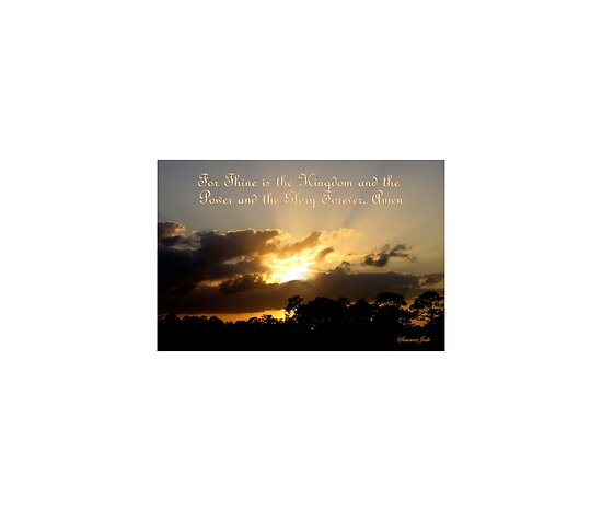 "Thine Is the Kingdom~ God Is the Key"" Fine Art Print by SummerJade ..."