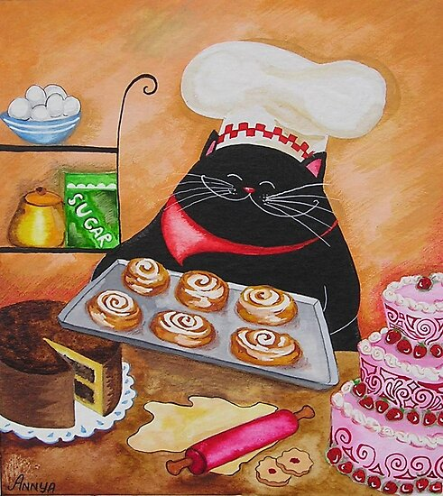 Pastry Chef by Annya Kai Joslow