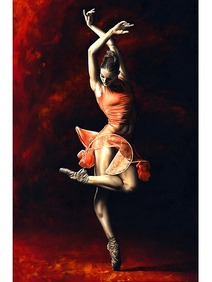 Oil Paintings: The Passion of Dance by Richard Young
