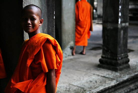 Street Photography: In The Temple by Paul McSherry