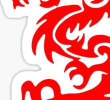 Krunk Red Dragon Updated 0909 Sticker by VII23
