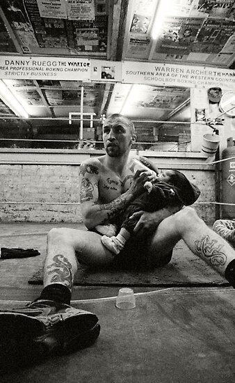 Street Photography: Doting Boxer by Andrew Lever