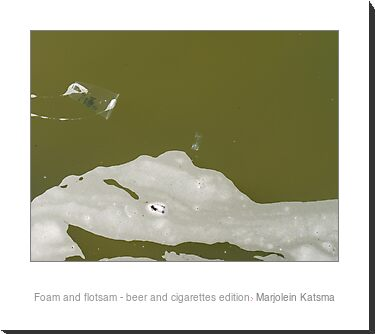 Foam and flotsam - beer and cigarettes edition