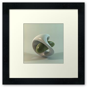 Ceramic Abstract | a 3dillustration by Luigi De Frenza