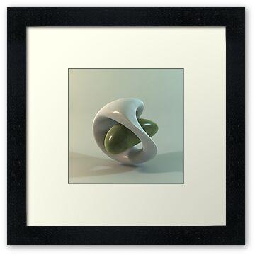 Ceramic Abstract | a 3dillustration by Luigi De Frenza