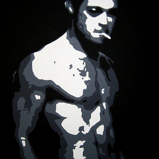brad pitt fight club poster. Brad Pitt in Fight Club