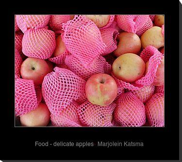 Food - delicate apples