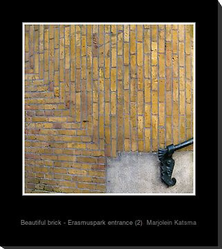 Beautiful brick - Erasmuspark entrance (2)