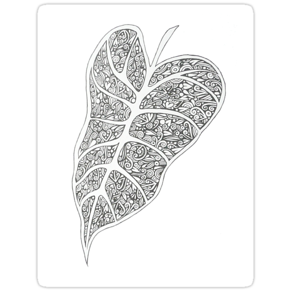 Rainforest leaf template Index of /