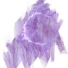 Abstract in Purple by Kelly Gammon