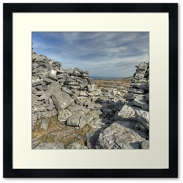 caherdooneerish stone for in The Burren in county Clare at Black Head