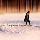 Snow Photography: The endless walk by Geir Floede