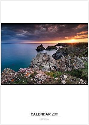Cornwall Calendar, 2011, landscape, seasacpe, nature, light, fine art