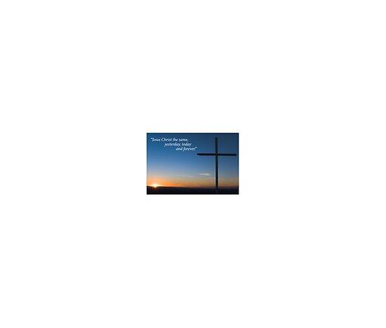 jesus on cross silhouette. Silhouette of cross on hill
